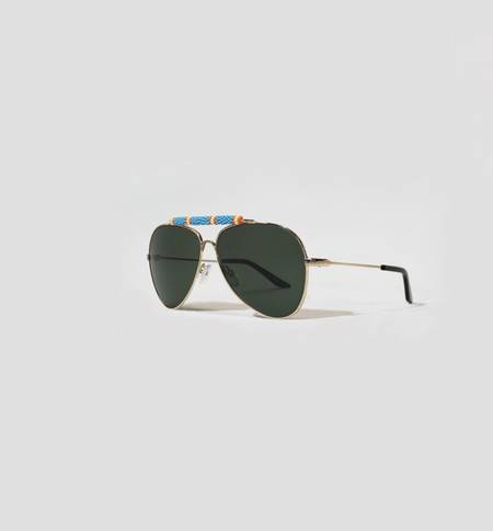 Michael Nelson Exclusive Sunglasses Turquoise/Orange
