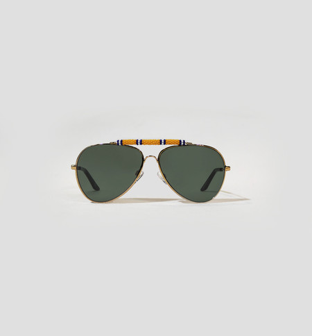 Michael Nelson Exclusive Sunglasses Yellow/Blue