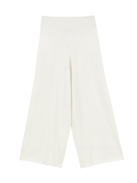 PURECASHMERE NYC Loose Fit Pants - Ivory