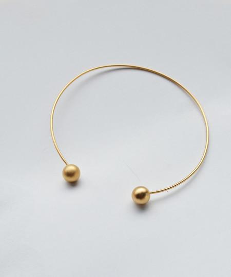 Baleen Cuff Necklace