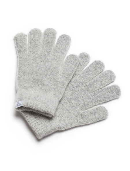 Norse Projects Alpaca Gloves Light Grey