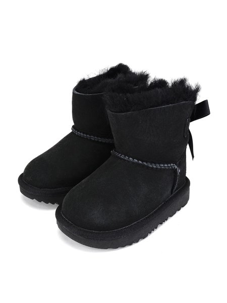 UGG T MINI BAILEY BOW II boots - BLACK