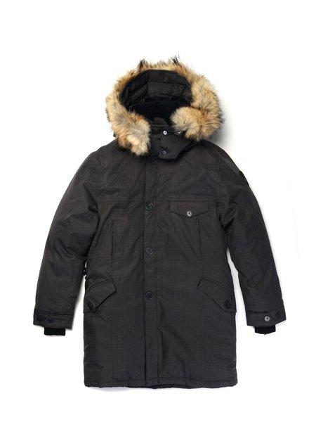 NOBIS THE JOHAN coat - STEEL GREY