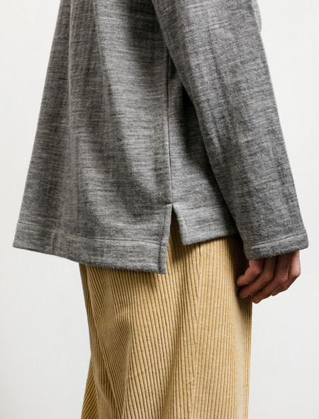 Our Legacy  Box Longsleeve Grey Melange Wool