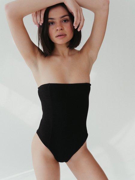Ziah Colette One Piece - Black Bouclê