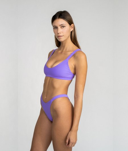 The Saltwater Collective Layla Top - Lavender