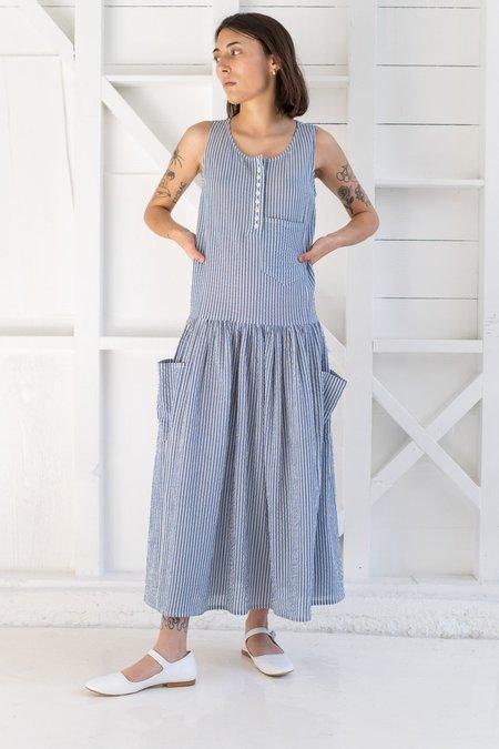 Caron Callahan MYRTLE DRESS - blue