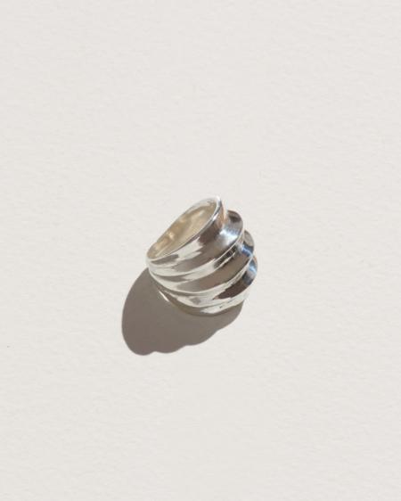 Pamela Love Classic Ridge Ring - Silver
