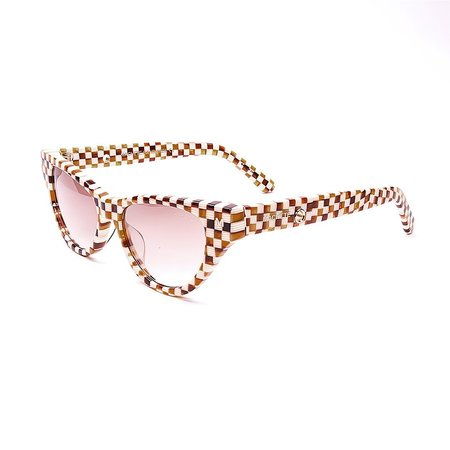 Machete Suzy Sunglasses - Tortoise Checker