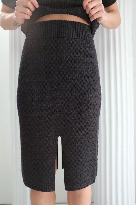 Beklina Gambit Skirt - Licorice