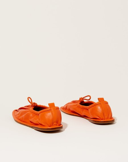 Hereu Puntera flats - Orange