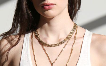 Kindred Black Bondanella Necklace - Gold