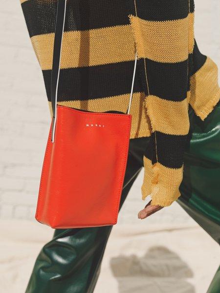 Calfskin Mini Museo Soft Leather Tote Shoulder Bag
