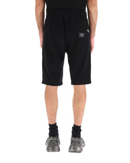 Dolce & Gabbana Bermuda  Logo Shorts - black