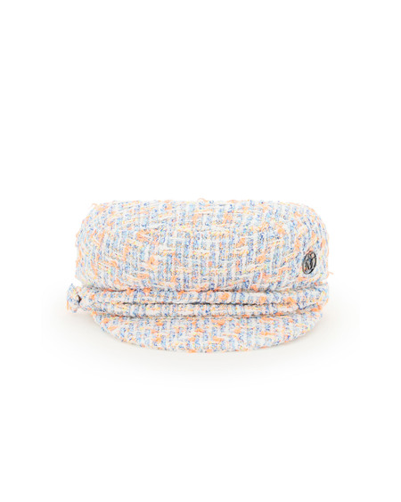 Maison Michel New Abby Tweed Beret - Multicolor