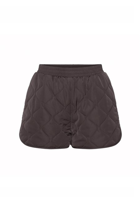 2NDDAY GATES Quilted Shorts - black