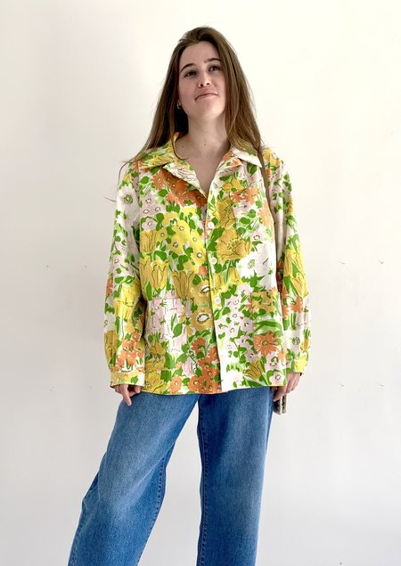 UNISEX The Series Chore Shirt - Floral