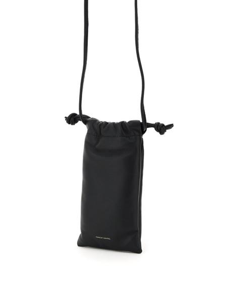Mansur Gavriel Pillow Necklace Bag - black