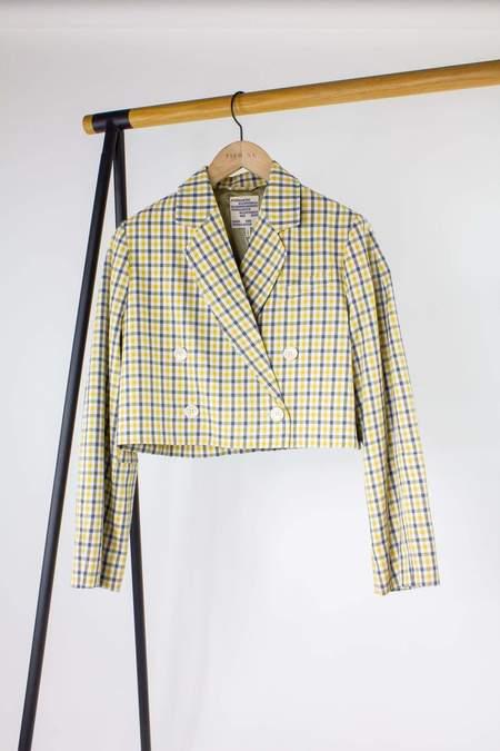 Baum und Pferdgarten Bianka Jacket - Mustard Check