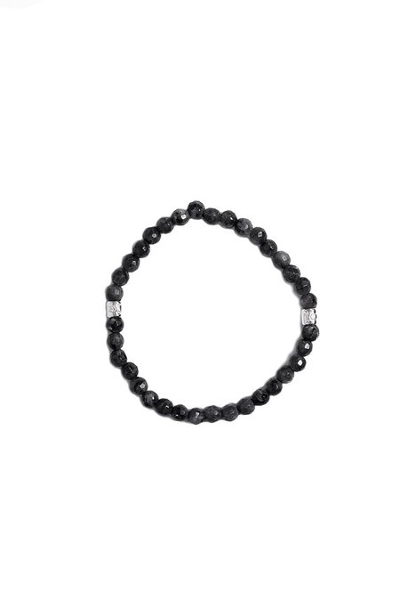 Mastermind World Labradorite Bracelet - Black