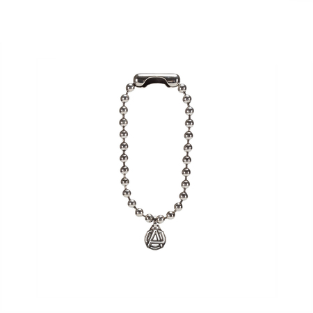 AMBUSH Emblem charm bracelet - silver