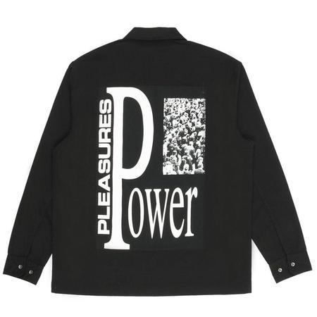 PLEASURES Power Gas Station Jacket - Black
