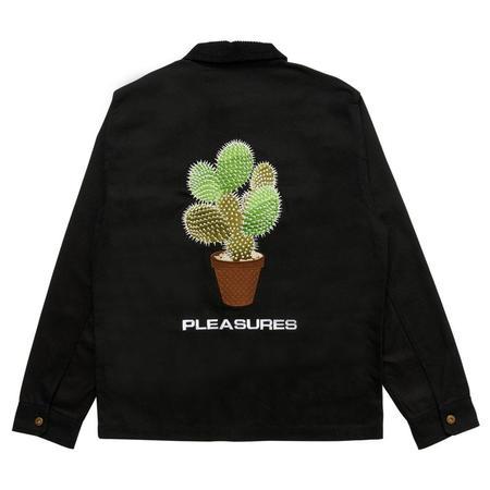PLEASURES Spike Chore Jacket - Black