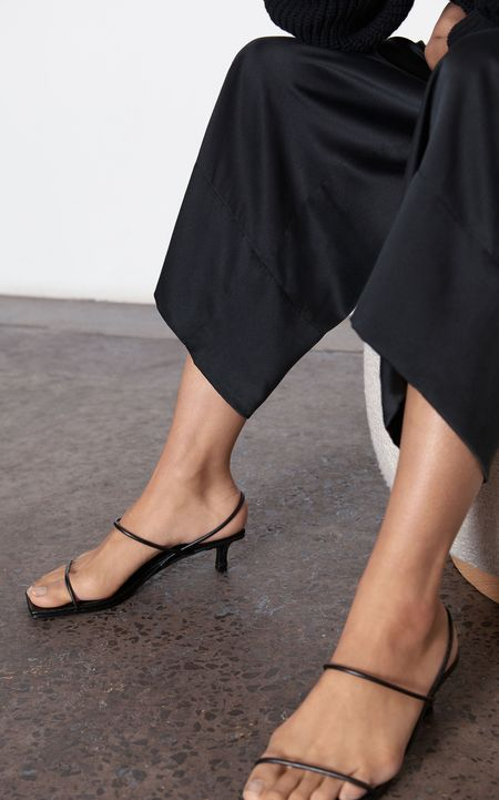 St. Agni Pina Croc Heels