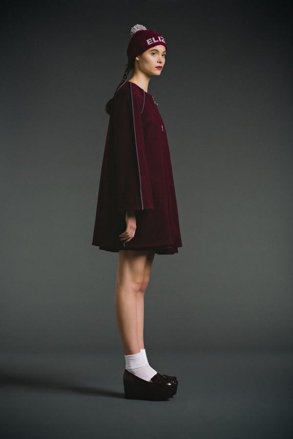 Eliza Faulkner Bibi Coat - Burgundy