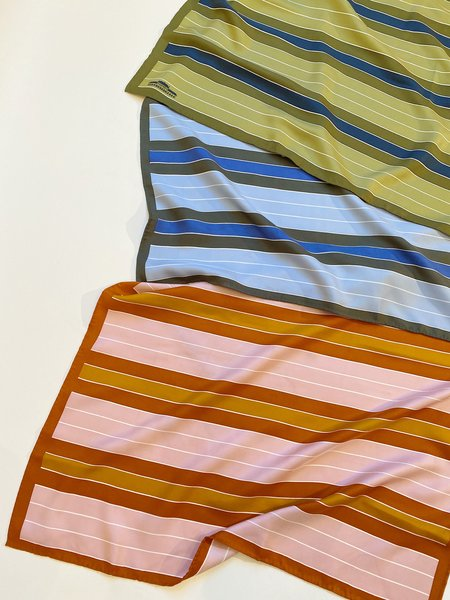 Moismont Silk Striped Scarf