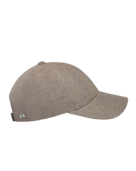 Varsity Headwear Argent Linen hat - Khaki