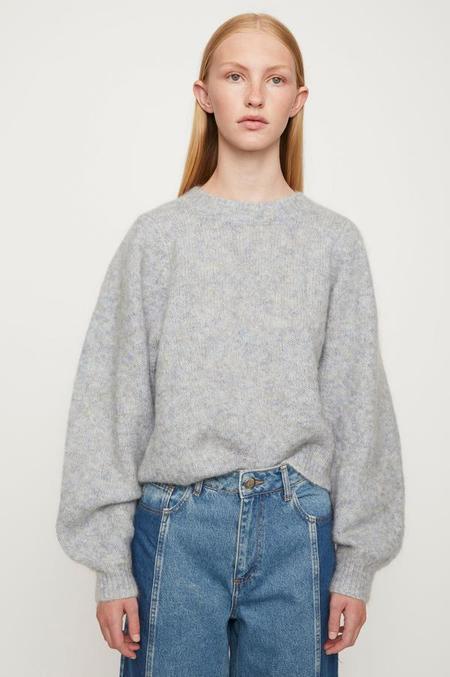 Just Female Girona Knit sweater - Blue Pumice Mix