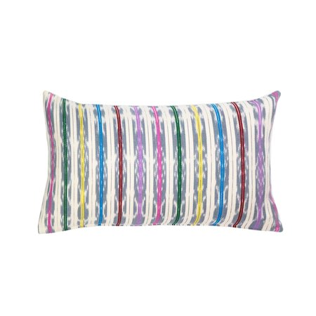 Archive New York Manuela Jaspé Pillow - Grey Rainbow