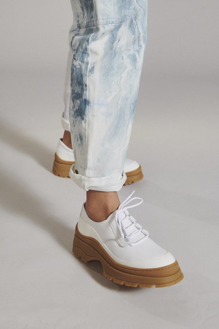 Rachel Comey Lovett Shoe - White Nappa Leather