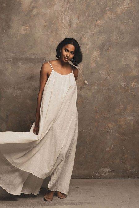 A Perfect Nomad Syros Dress - Milk