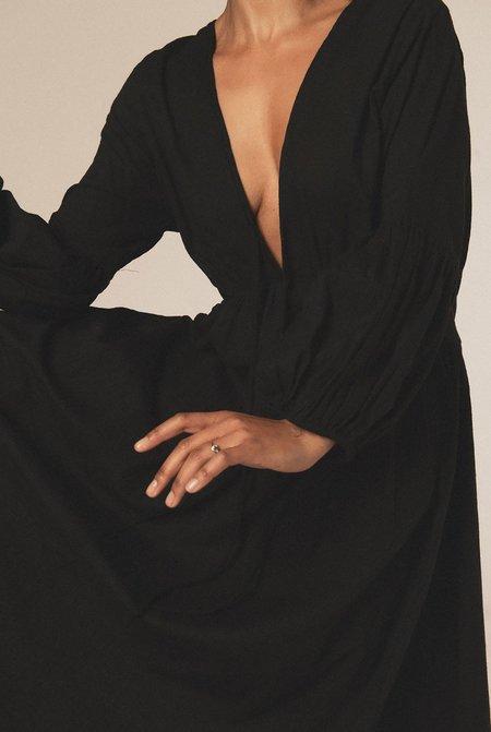 A PERFECT NOMAD Wild Heart dress - black