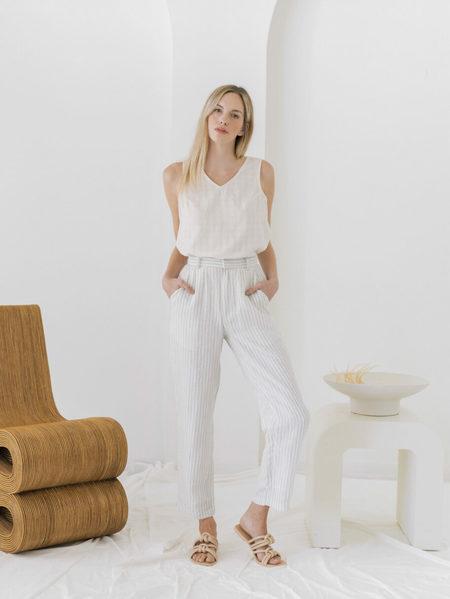 LAUDE the Label Icon Trouser - Sailor Stripe