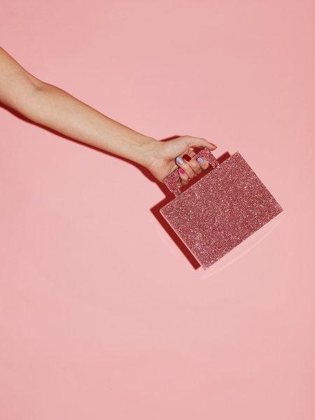 Respiro Studio Alexa Bag - Pink Glitter