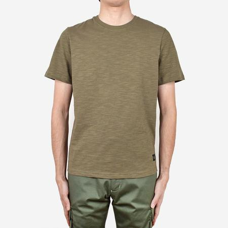 Outclass Slub Short-Sleeve T-Shirt - Olive