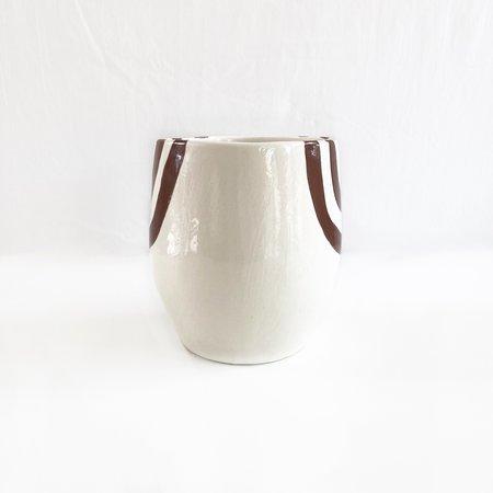 Luna Reece Ceramics Luna Reece U Pot - Walnut