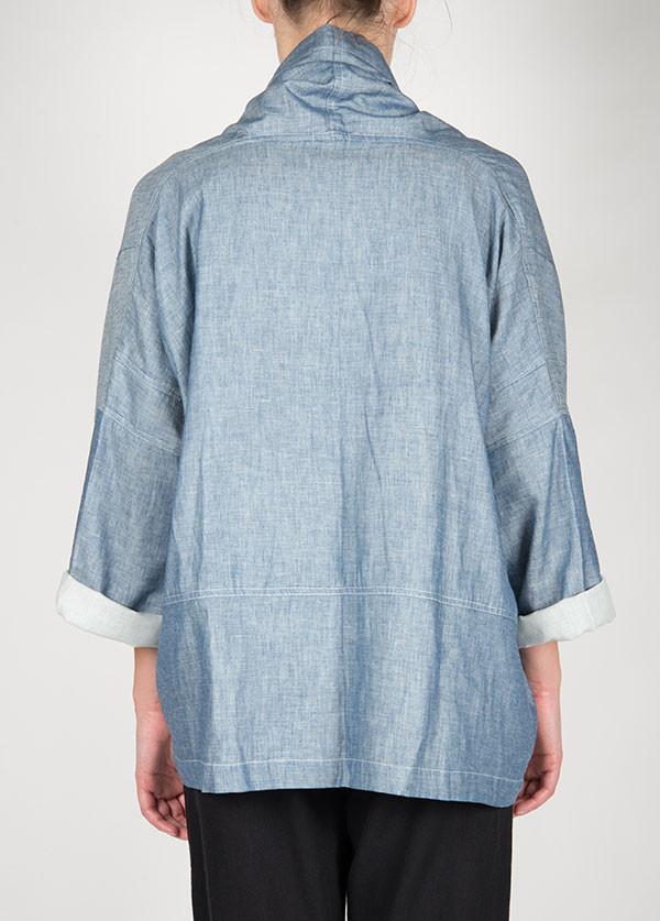 Atelier Delphine  Kimono Jacket in Baby Chambray