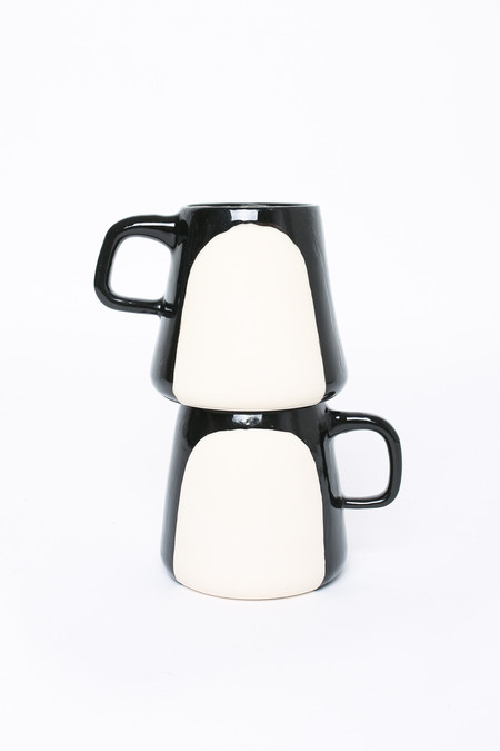 BTW Ceramics Penguin Mug - Contrast Series