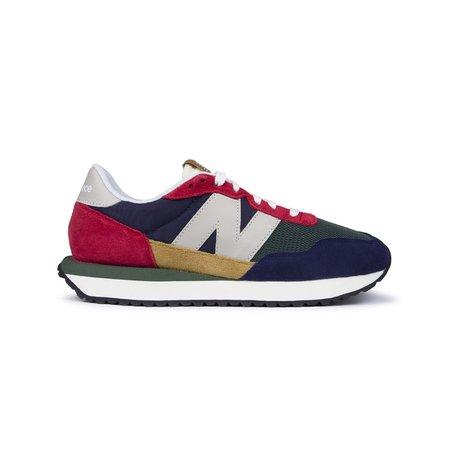 New Balance 237 Suede Mesh Sneaker - Multi