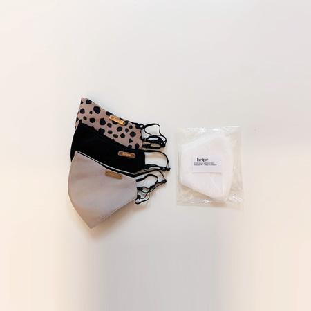 Studio Heijne 3-pack Silk Face Mask - Mixed