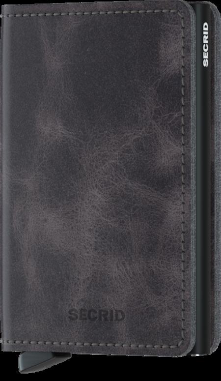 Secrid Slim wallet - Vintage Grey/Black