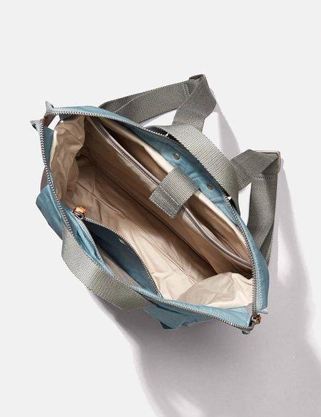 Ally Capellino Frances Hybrid Waxy Rucksack bag - Blue