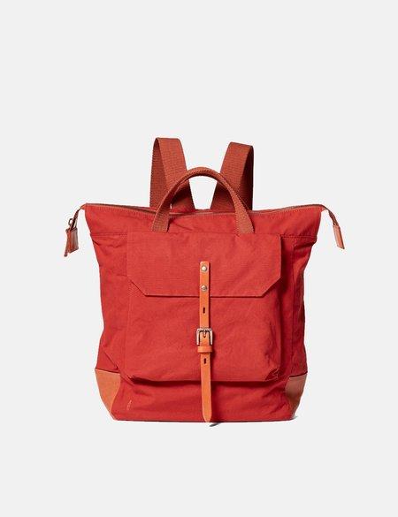 Ally Capellino Frances Hybrid Waxy Rucksack bag - Red