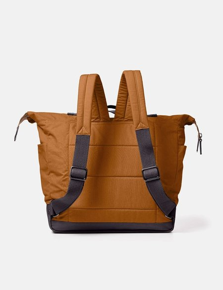 Ally Capellino Frank Waxed Cotton Large Rucksack - Breen