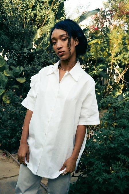 Et Tigre Bowie Sleep Shirt - Blanc