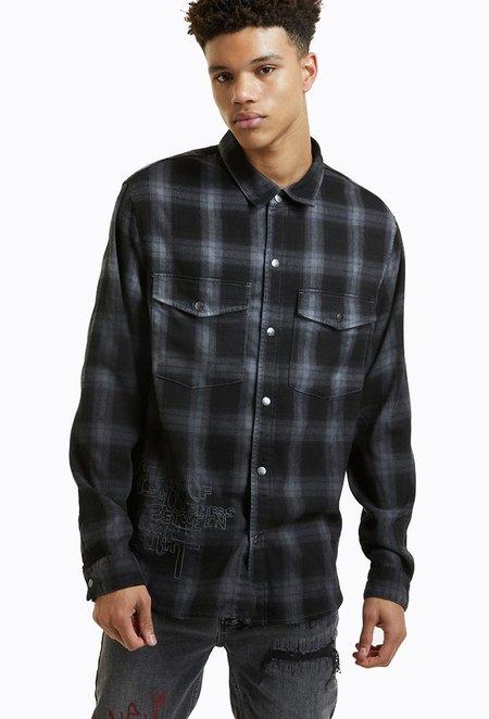 Ksubi Consciousness Shirt - Grey Plaid